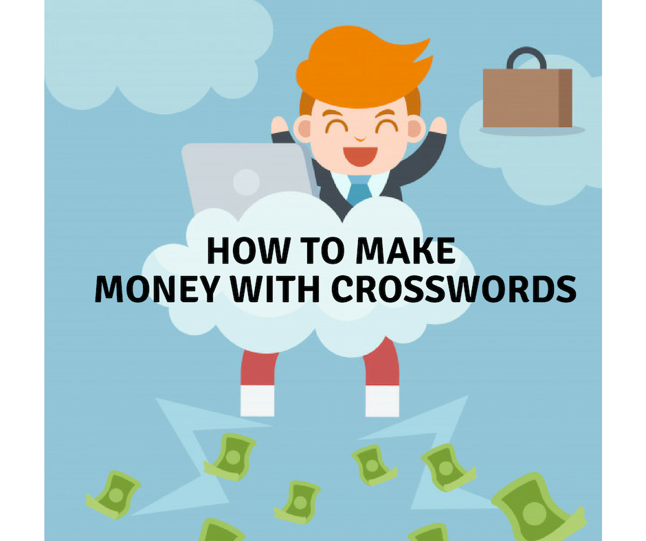 how to make money with crosswords