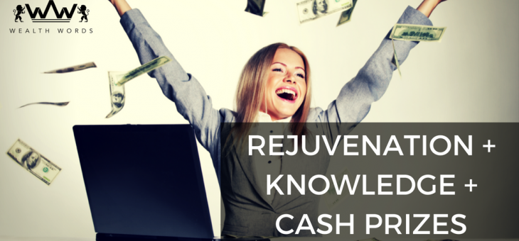 Rejuvenation+Knowledge+Cash Prizes