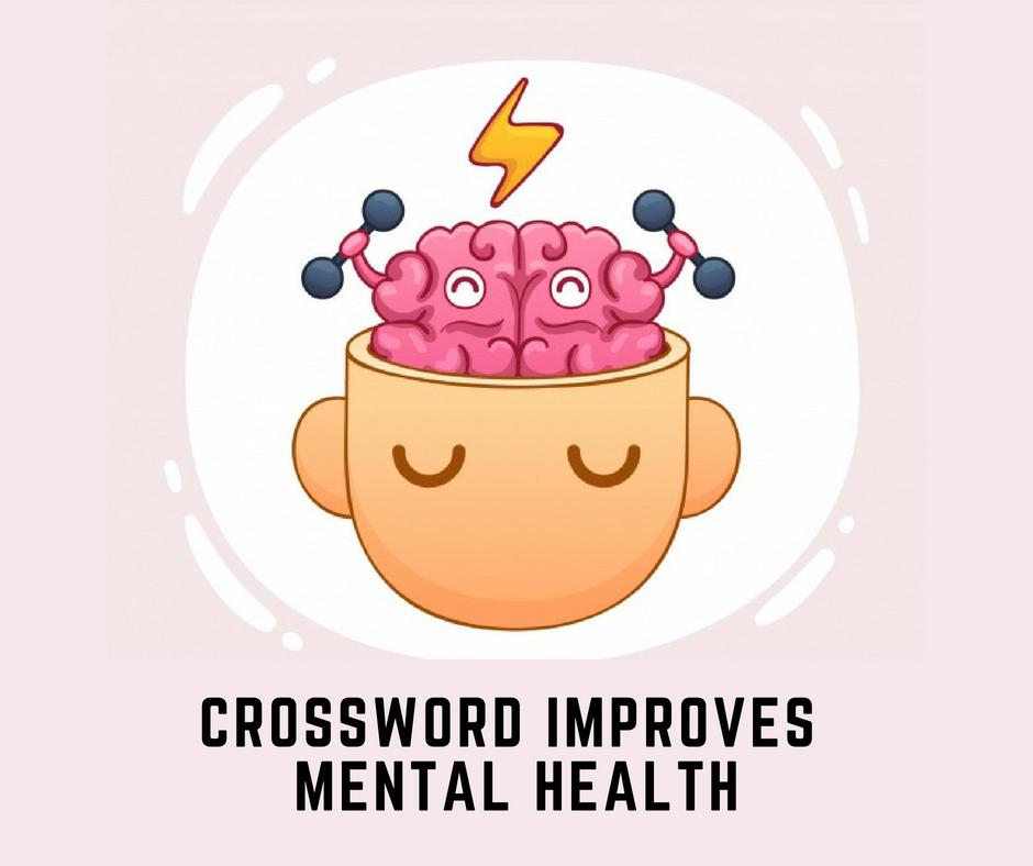Crossword Improves Mental Health