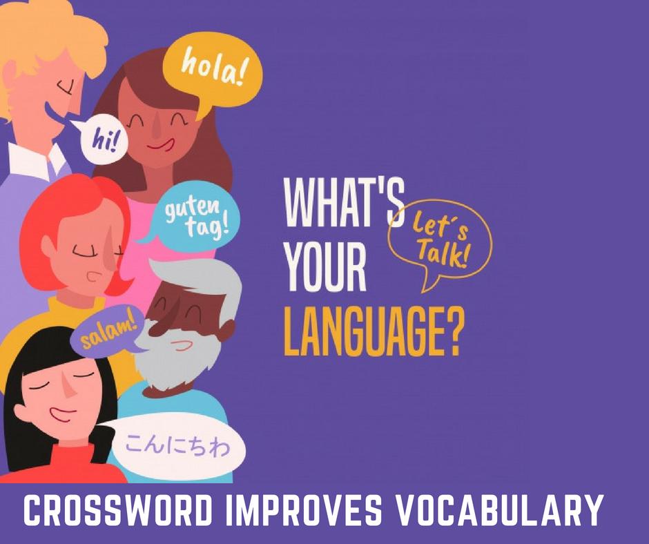 Crossword Improves Vocabulary