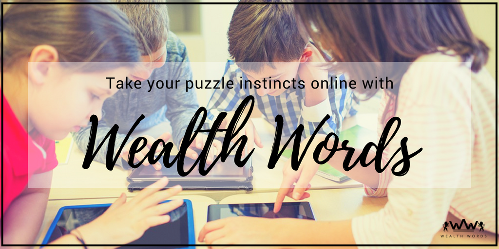 Take your puzzle instincts online with Wealth Words