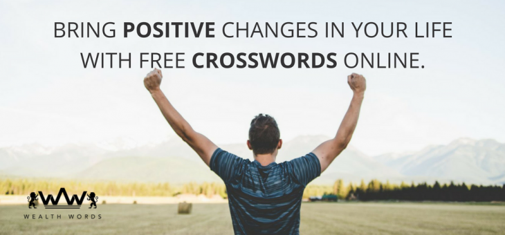 Bring Positive Changes in Your Life with Free Online Crossword Puzzles