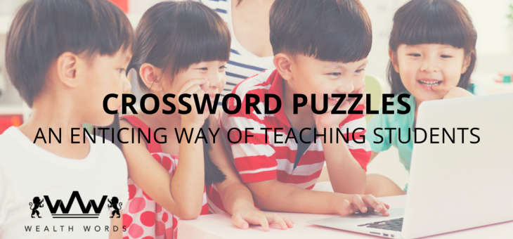 Crossword puzzles – An enticing way of teaching students.