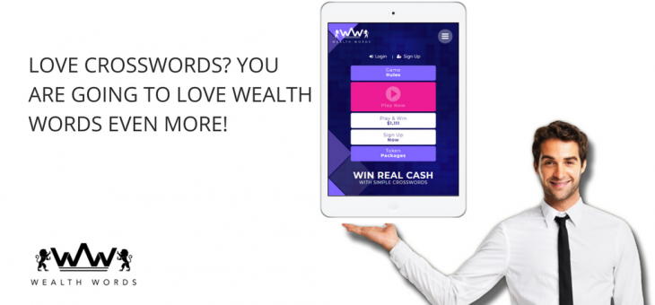 Love Online Crossword Puzzles? You are Going to Love Wealth Words Even More!