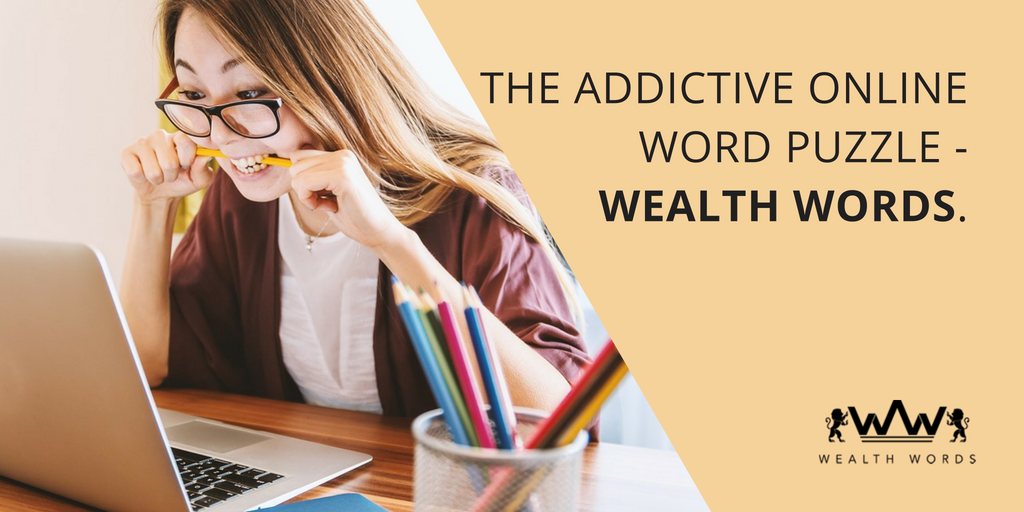 The addictive online word puzzle-WealthWords