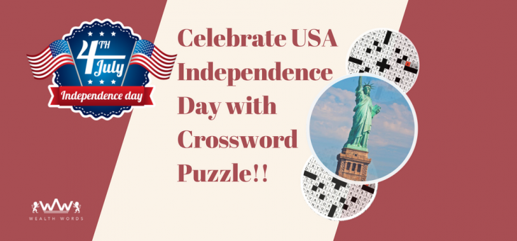 Celebrate USA Independence Day with Crossword Puzzles