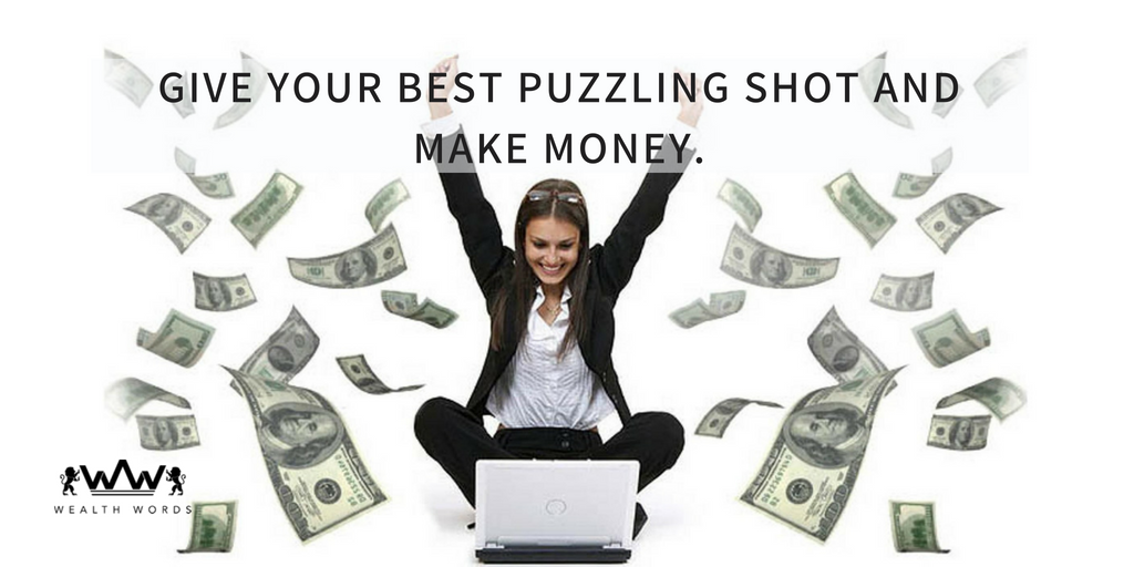 Give Your Best Crossword Puzzling Shot and Make Money Playing Games