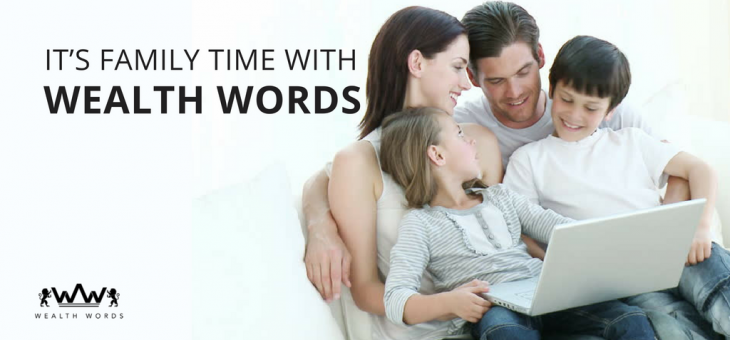 It's Family Time with Wealth Words – Play Online Crossword Puzzle Games