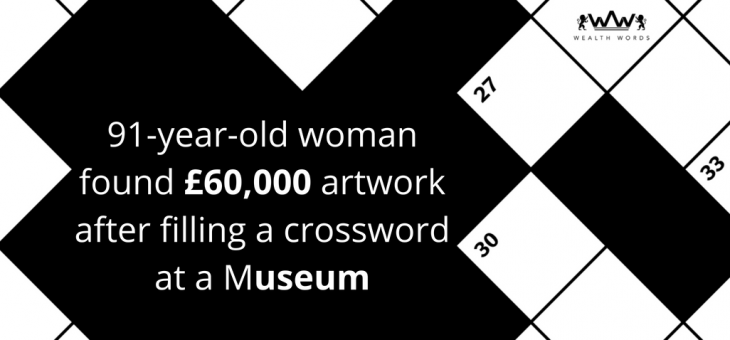 91-Year-Old Woman found £60,000 artwork after filling a Crossword at a Museum