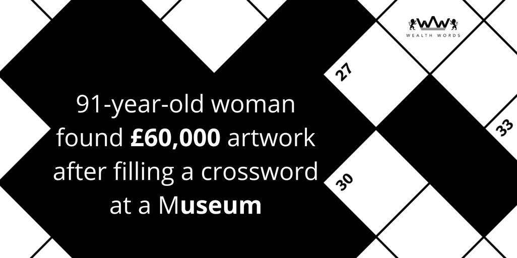 91-year-old woman found £60,000 artwork after filling a crossword at a museum (1)