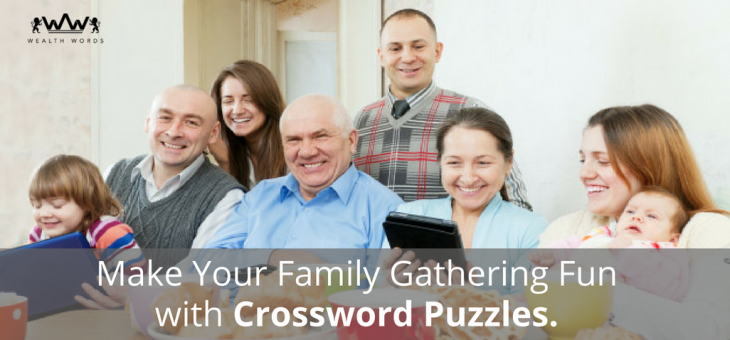 Make Your Family Gathering Fun with Crossword Puzzles