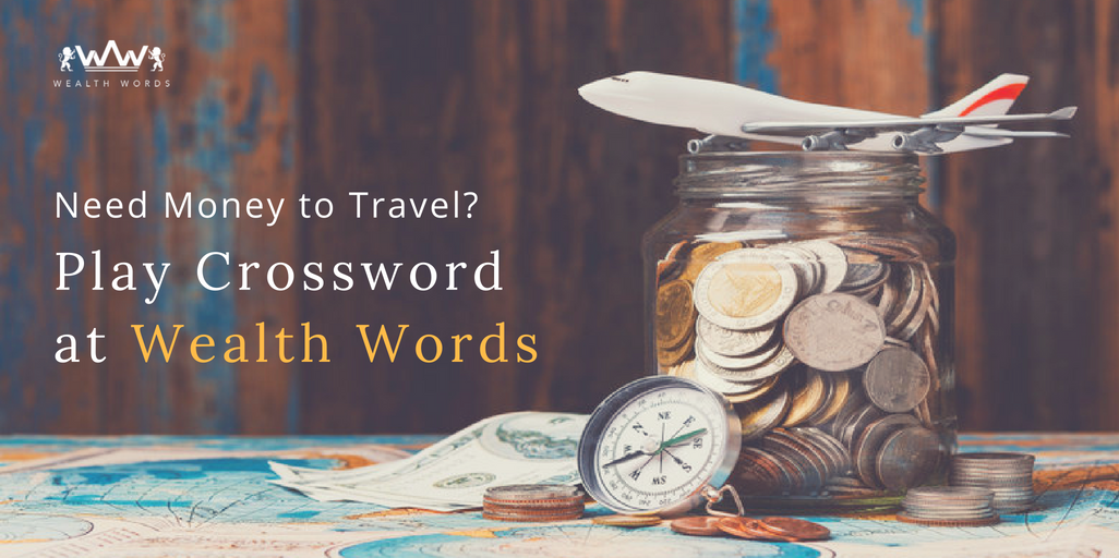 Need cash to travel? Play crossword and win real money