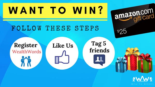 Wealth Words - Facebook Contest