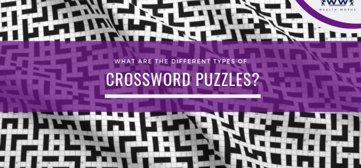 What are the Different Types of Crossword Puzzles?