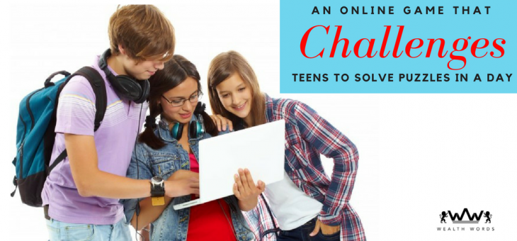 An online game that challenges Teens to solve puzzles in a day.