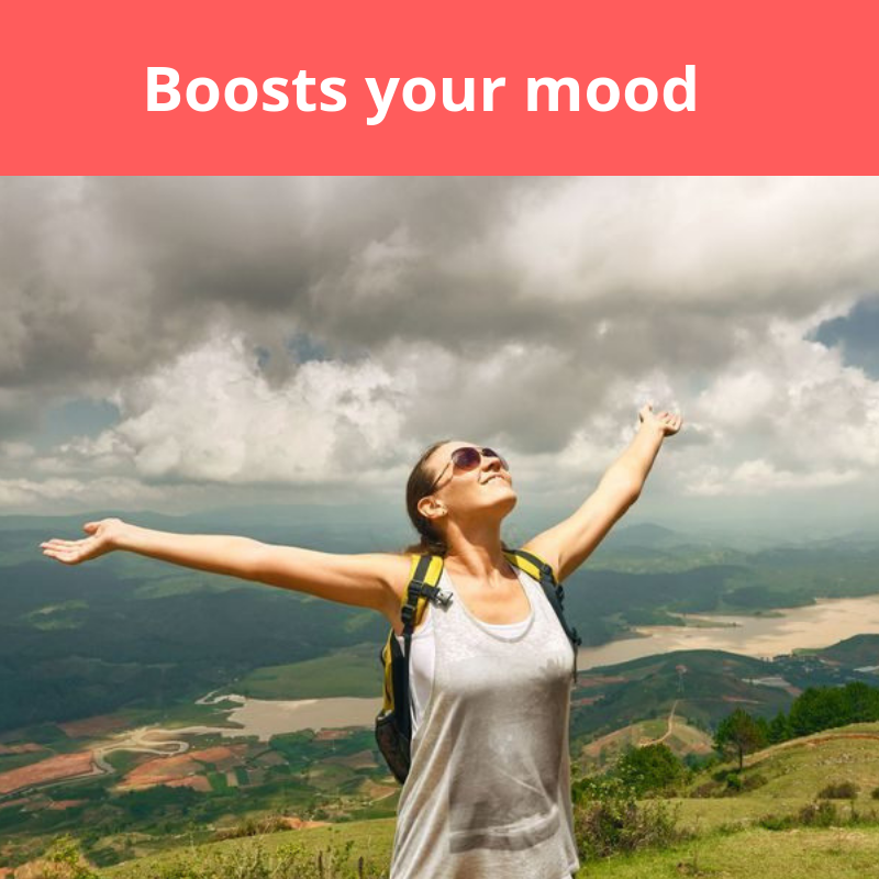 Boosts your mood