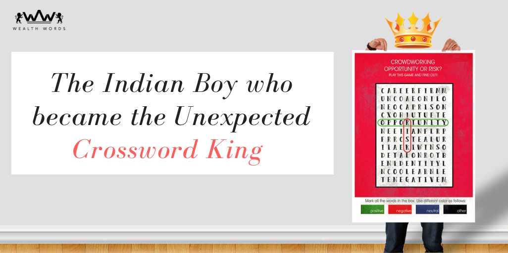 The Indian Boy who became the Unexpected Crossword King (1)