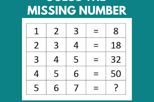 Wednesday Puzzle – Guess The Missing Number?