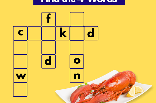 Friday Crossword Puzzle – Find the 4 Words