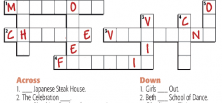 Friday Puzzle – Daily Crossword Puzzles