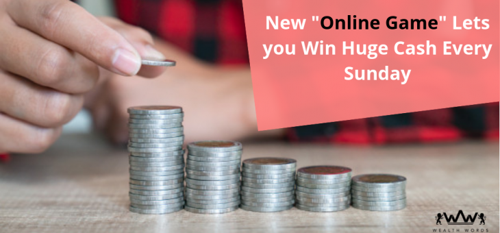 "New ""Online Game"" Lets you Win Huge Cash Every Sunday"