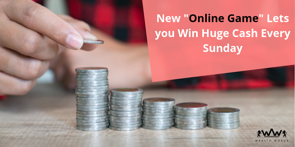 New online game lets you win huge cash every sunday