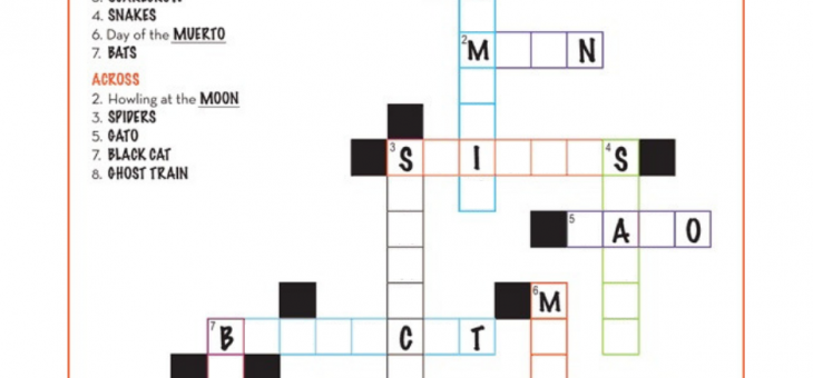 Thursday Puzzle – Solve this Spooky Crossword!