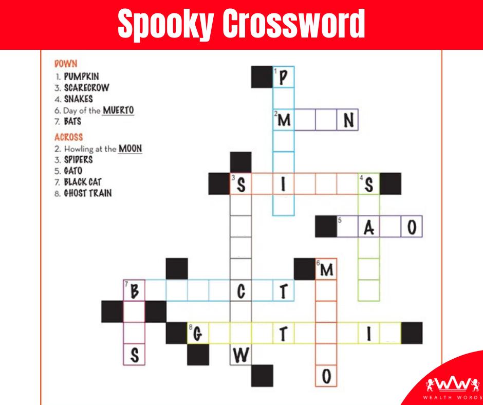 Thursday Puzzle -Spooky Puzzle-2018-10-18