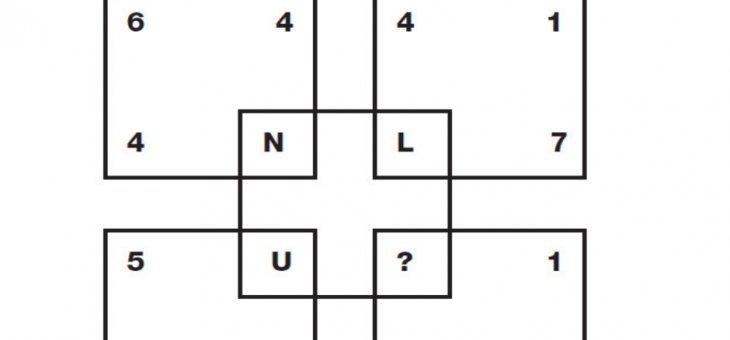Thursday Puzzle – Which letter completes the puzzle?