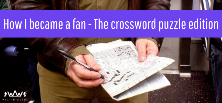 How I Became a Fan – The Crossword Puzzle Edition!