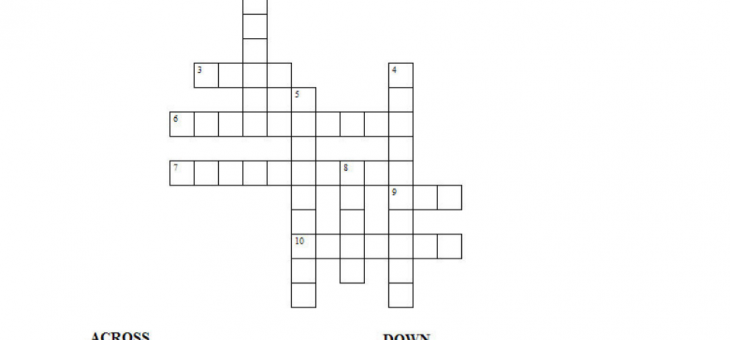 Friday Puzzle – Vehicles Crossword puzzle