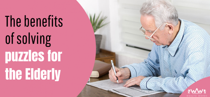 The benefits of solving crossword puzzles for the elderly