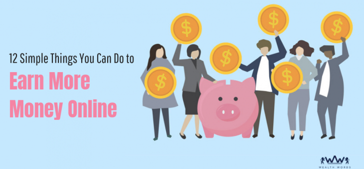 12 Simple Things You Can Do to Make Real Money Online