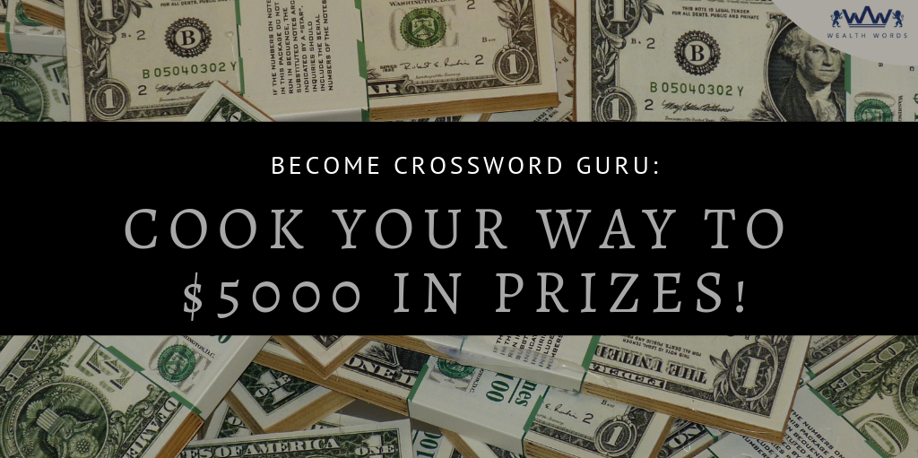 crossword competitions for cash prizes, large cash crossword, crossword puzzles for money, word search competitions cash prizes, large cash prize