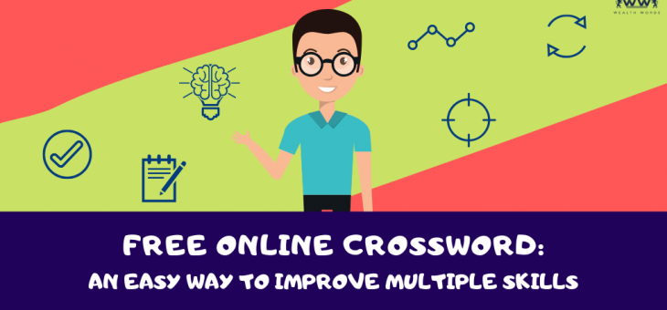 Free Online Crossword: An easy way to improve multiple skills