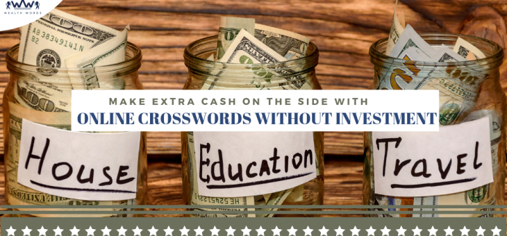 Make Extra Cash on the Side with Online Crosswords without Investment