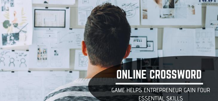 Doing Crossword Game Helps Entrepreneur Gain Four Essential Skills
