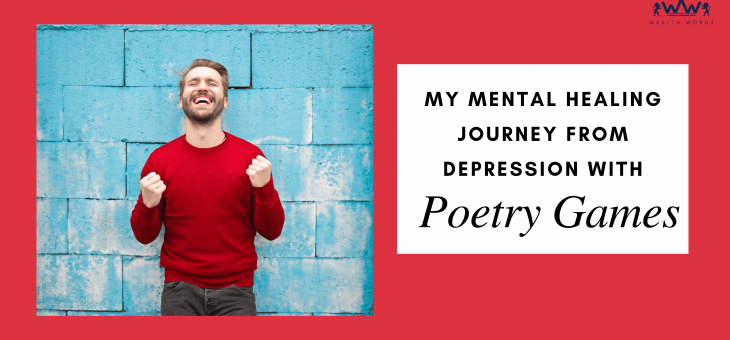 My mental healing – Journey from depression with magnetic poetry game