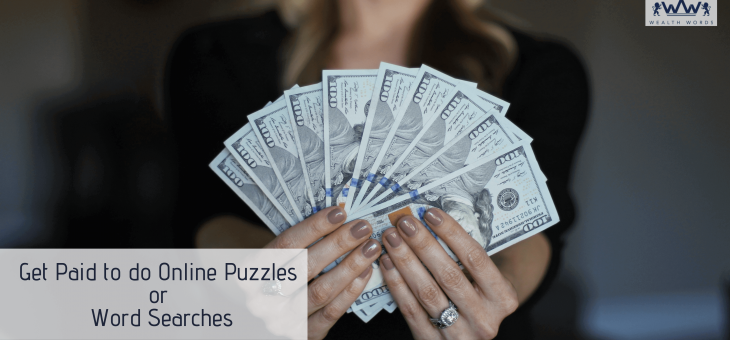 Get Paid to do Online Puzzles or Word Searches