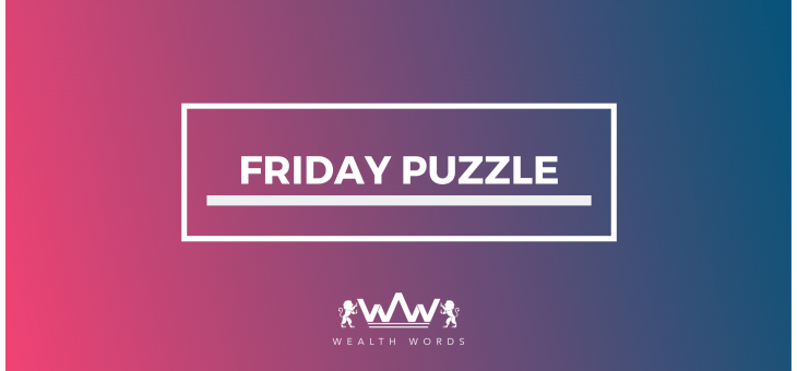 Friday Puzzle – 23/08/2019