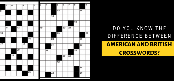Do You Know the Difference Between American and British Crosswords?