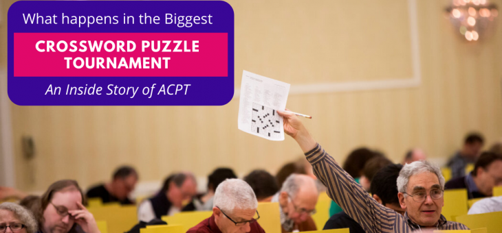 What Happens in the Biggest Crossword Puzzle Tournament?