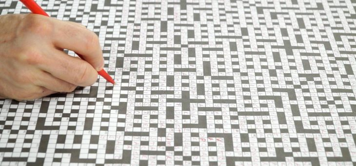 The Real Psychology Behind Crossword Puzzles