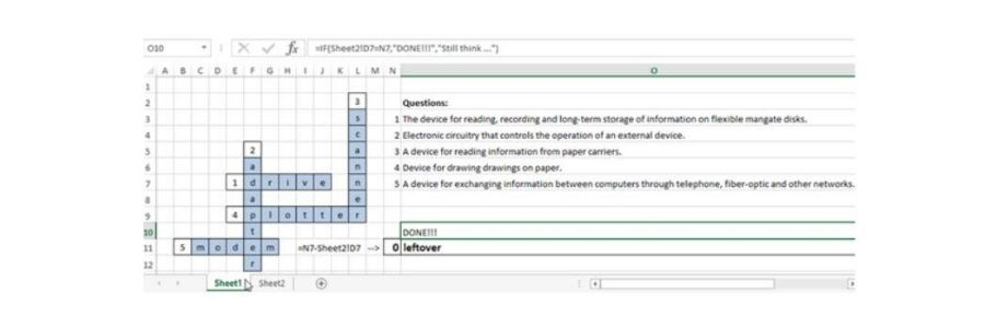 How to make a crossword in Excel, Design a Crossword Puzzle in Microsoft Excel, Make a Crossword Puzzle in Excel, Making an Interactive Crossword Puzzle with Excel, Microsoft Excel Crossword, Excel With Interactive Crossword Puzzles, interactive crossword excel, microsoft excel crossword puzzle, microsoft word crossword puzzle,
